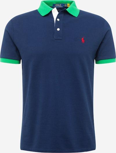 POLO RALPH LAUREN Tričko - tmavě modrá / trávově zelená, Produkt