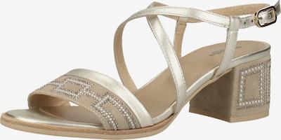 Nero Giardini Sandalen in beige / silber, Produktansicht