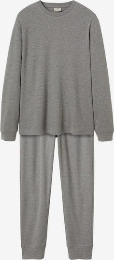 MANGO MAN Pyjama 'Merlo' in grau, Produktansicht