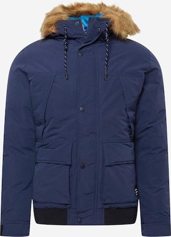 JACK & JONES Winter jacket in Blue