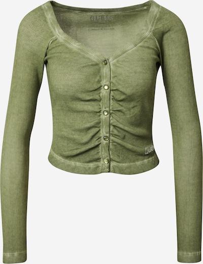 GUESS Shirt 'MIRIANA' in grün, Produktansicht