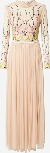 Frock and Frill Evening dress in Reed / Dark green / Apricot / Light pink, Item view