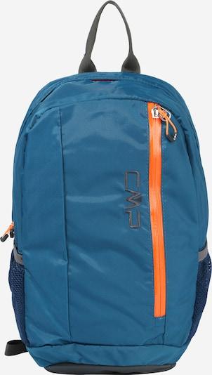 CMP Sac à dos de sport 'REBEL 10' en bleu / orange clair, Vue avec produit