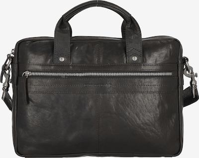 Spikes & Sparrow Aktentasche 'Bronco' in schwarz, Produktansicht