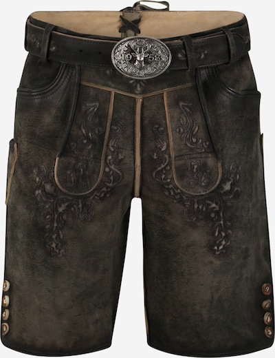 Krüger Madl Krojové kalhoty - hnědá, Produkt