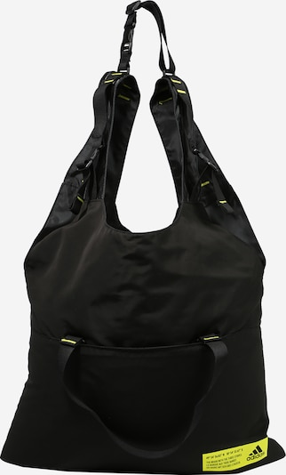 ADIDAS PERFORMANCE Sports bag in yellow / black, Item view
