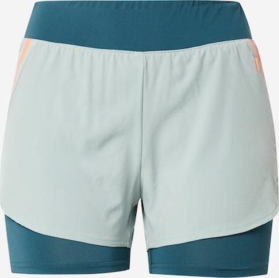 ONLY PLAY Shorts 'FERR' in pastellblau / hellgrau / orange, Produktansicht