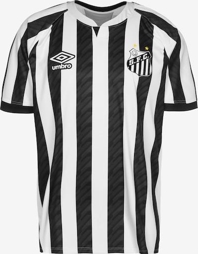 UMBRO Tricot in de kleur Zwart / Wit, Productweergave