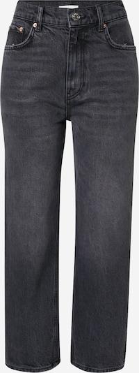 Gina Tricot Jeans 'Unni' in de kleur Black denim, Productweergave