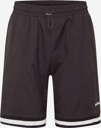Mennace Shorts in schwarz / weiß, Produktansicht