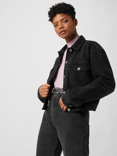 LeGer by Lena Gercke Between-season jacket 'Elif' in Black denim, View model