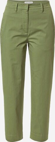 Pantalon chino 'Kani' Marc O'Polo en vert