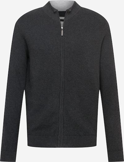 TOM TAILOR Vestes en maille en gris foncé, Vue avec produit