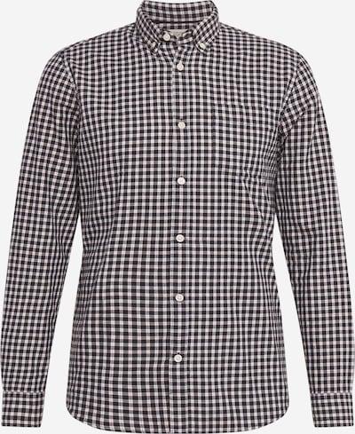 ESPRIT Overhemd in de kleur Navy / Wit, Productweergave