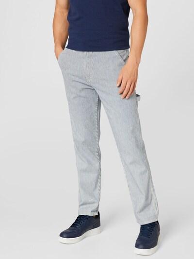 Lee Jeans 'CARPENTER' in blue denim / white denim, Modelansicht