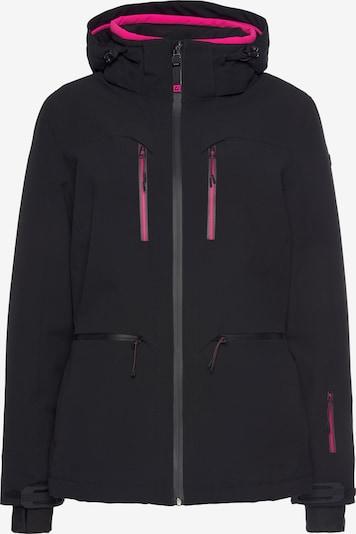 KILLTEC Skijacke in neonpink / schwarz, Produktansicht