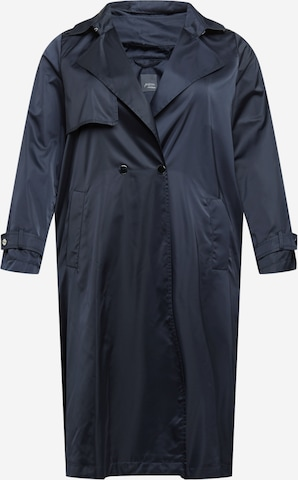 Persona by Marina Rinaldi Between-Seasons Coat in Blue