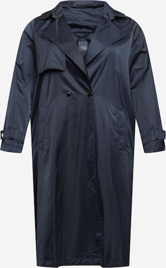 Demisezoninis paltas iš Persona by Marina Rinaldi, spalva – tamsiai mėlyna jūros spalva, Prekių apžvalga