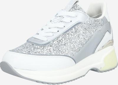 REPLAY Trampki niskie 'Decade' w kolorze srebrny / białym, Podgląd produktu