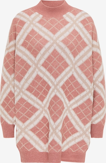 faina Oversized Sweater in Beige / Pink, Item view