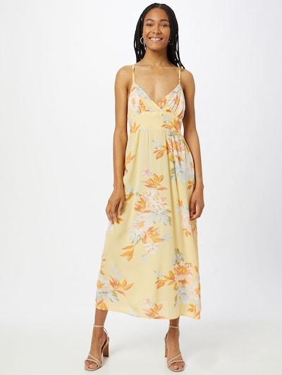 BILLABONG Kleid 'HONEY' in gelb / mischfarben, Modelansicht