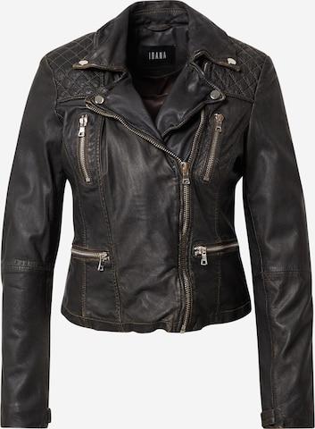 Ibana Between-season jacket 'BROWSER' in Black