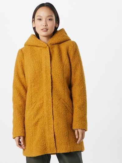 JACQUELINE de YONG Mantel 'Sonya' in kastanienbraun, Modelansicht