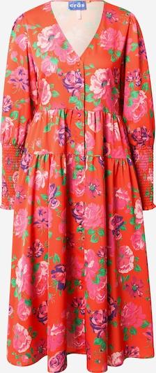 Crās Kleid in mischfarben / hellrot, Produktansicht
