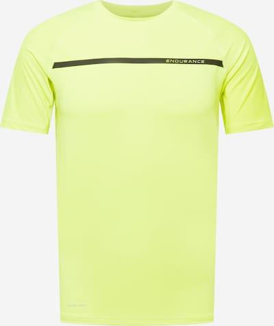 ENDURANCE Sportshirt 'Serzo' in gelb / neongelb / schwarz, Produktansicht