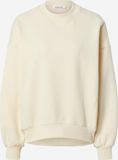 EDITED Sweatshirt 'Lana' in hellgelb, Produktansicht