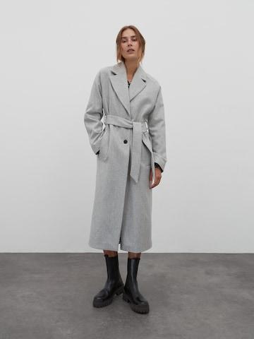 EDITED Płaszcz przejściowy 'Cecilia' w kolorze szary