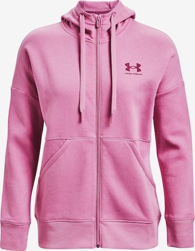 UNDER ARMOUR Hoodie in pink, Produktansicht