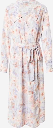 Rochie tip bluză 'Love677' Love & Divine pe crem / albastru fumuriu / roz, Vizualizare produs
