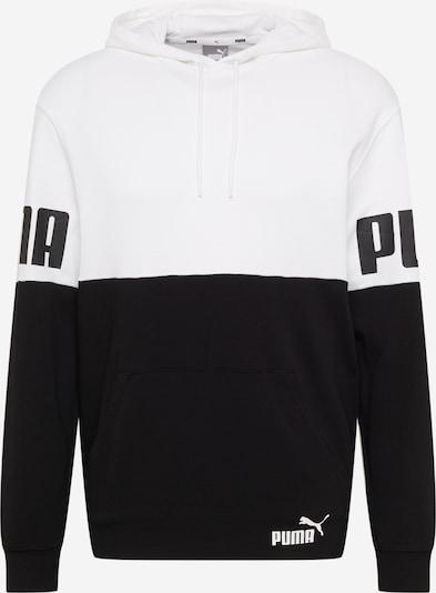 PUMA Športová mikina - čierna / biela, Produkt