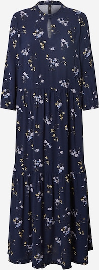 Y.A.S Kleid in blau / gelb, Produktansicht