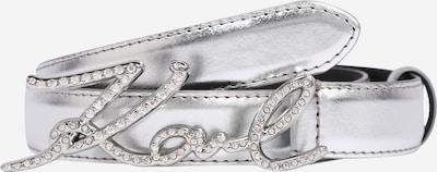 Curea Karl Lagerfeld pe argintiu, Vizualizare produs