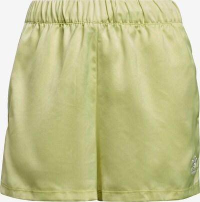 ADIDAS ORIGINALS Pants in Yellow / White, Item view