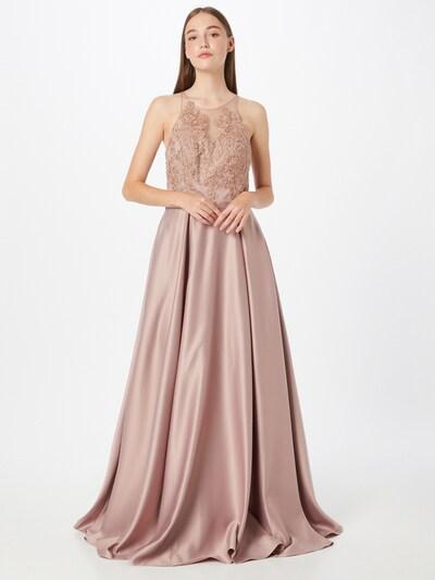 Rochie de seară mascara pe roz pal, Vizualizare model