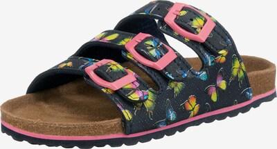 SUPERSOFT by Indigo Sandale in dunkelblau / mischfarben, Produktansicht