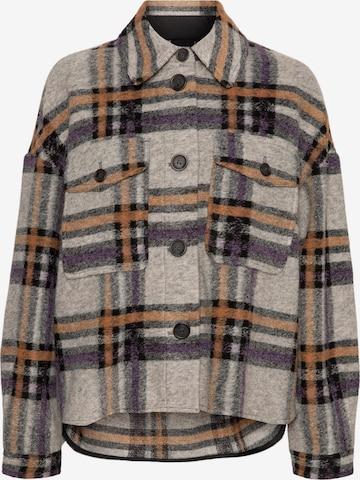 VERO MODA Between-Season Jacket 'Chrissie' in Grey