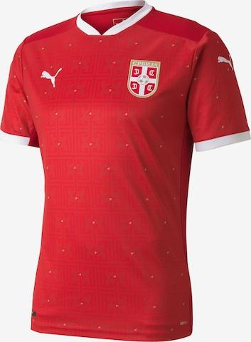 PUMA Jersey 'Serbien 2021' in Red
