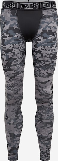 UNDER ARMOUR Leggings in grau / dunkelgrün / schwarz, Produktansicht
