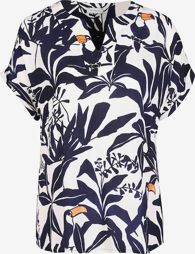 Promiss Bluse in marine / orange / weiß, Produktansicht