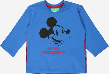 T-Shirt UNITED COLORS OF BENETTON en bleu