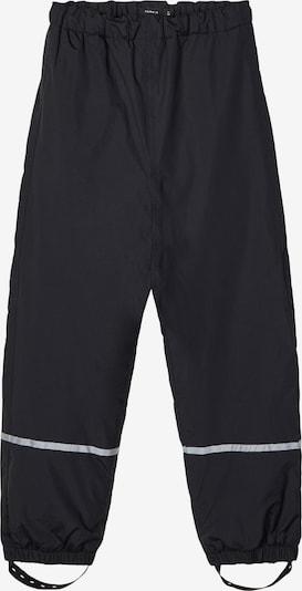 NAME IT Pantalon fonctionnel 'NKNCLOUD' en noir, Vue avec produit