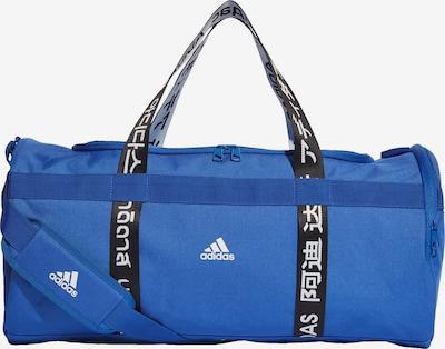 ADIDAS PERFORMANCE Sporttas in de kleur Royal blue/koningsblauw / Zwart / Wit, Productweergave