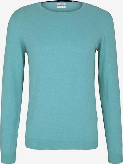 TOM TAILOR Pulover | turkizna barva, Prikaz izdelka