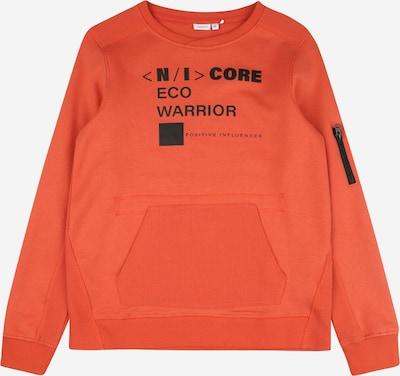 NAME IT Sweater majica u tamno narančasta / crna, Pregled proizvoda