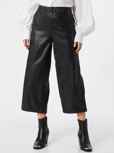 STREET ONE Pantalon en noir, Vue avec modèle