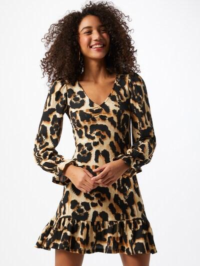 River Island Šaty - béžová / hnedá / čierna, Model/-ka